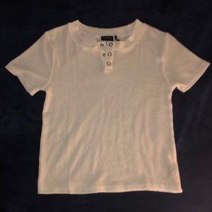 Out From Under Henley Crop Top from UO